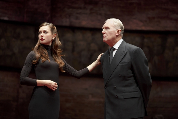 Lydia Wilson & Tim Pigott-Smith Photo