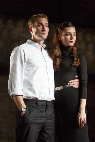 Oliver Chris & Lydia Wilson