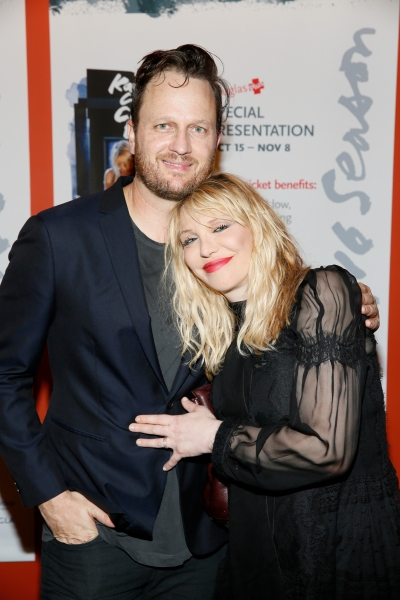 Todd Almond, Courtney Love Photo