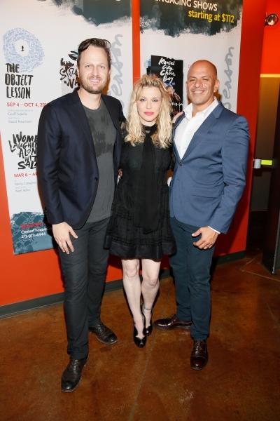 Todd Almond, Courtney Love, Mark Subias Photo