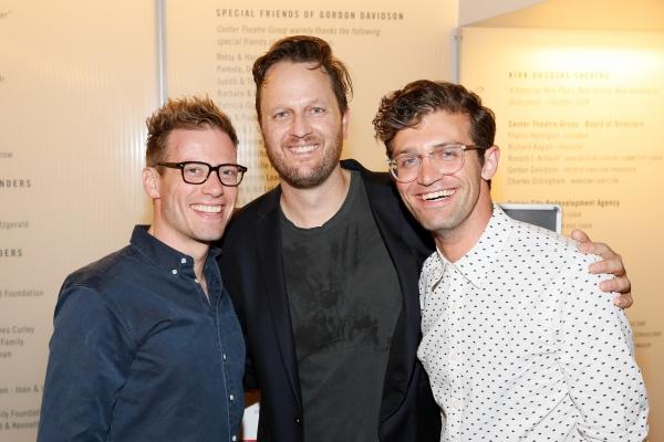 Barrett Foa, Todd Almond, Sam Pinkleton