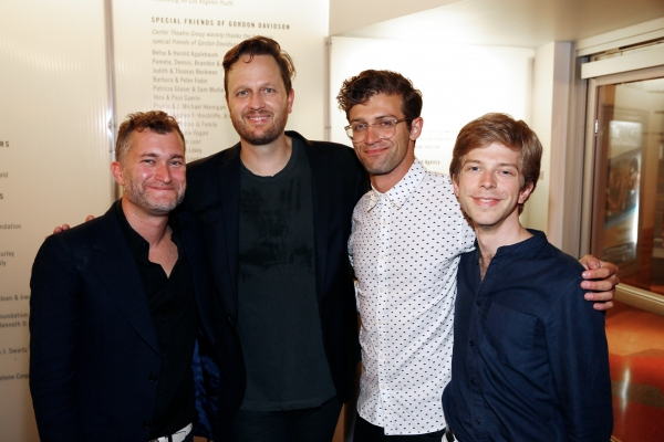 Kevin Newbury, Todd Almond, Sam Pinkleton, David Bloom