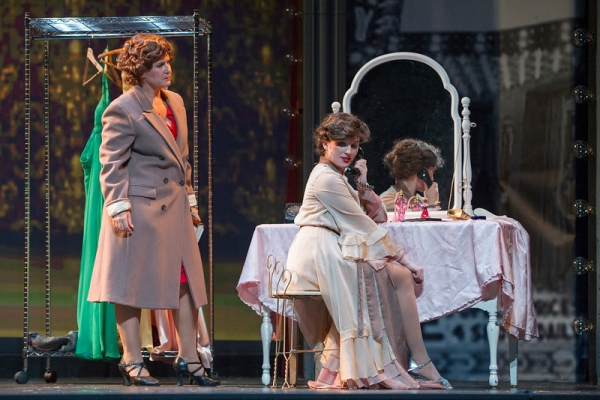 Krissy Fraelich as Mama Rose with Anna Giordano as Louise Photo