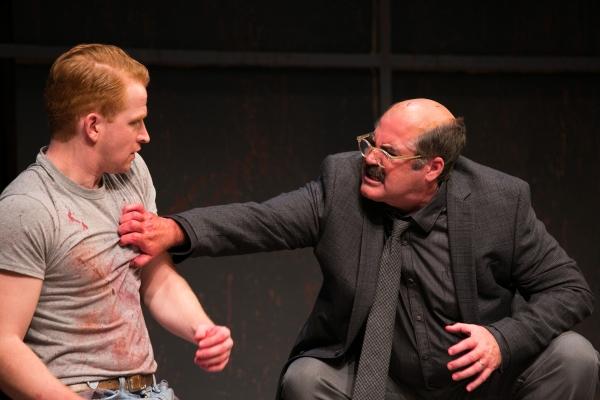 John Ford-Dunker as Ken and Stephen Caffrey as Mark Rothko