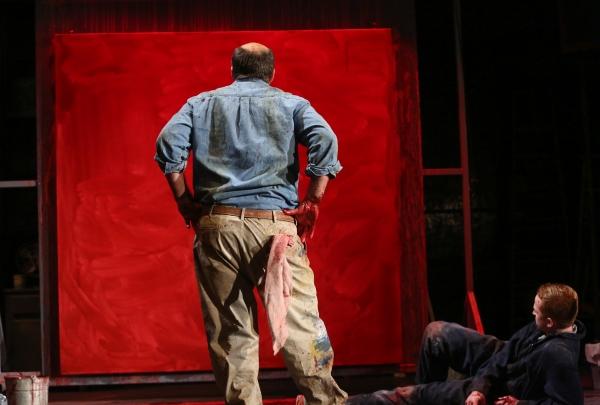 Stephen Caffrey as Mark Rothko and John Ford-Dunker as Ken