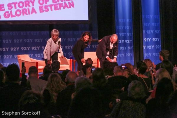 Photo Coverage: Rita Moreno Interviews Gloria & Emilio Estefan at 92Y Talks!
