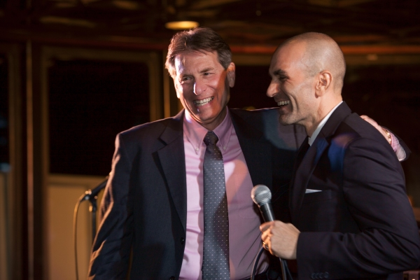 Steve Spiegel andSean Cercone. Photo