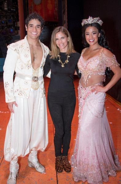 Photos: Natalie Morales Visits ALADDIN