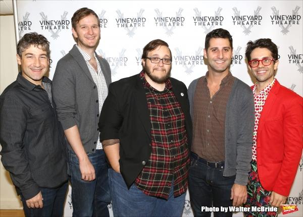 Scott Schwartz, Matthew row Berger, Randy Blair, Tim Drucker and Chase Brock