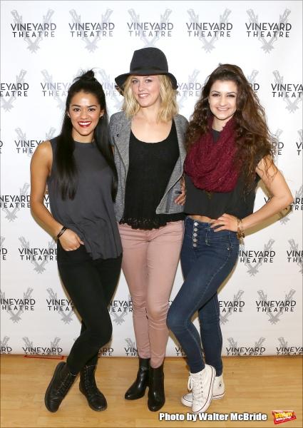 Kalyn West, Taylor Louderman and Jennifer Geller