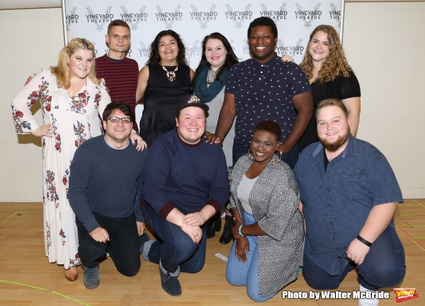 Photo Coverage: Meet the Company of Vineyard Theatre's GIGANTIC!