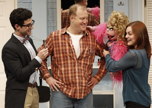 Photo Flash: Stars of AVENUE Q Welcome SHEAR MADNESS to New World Stages