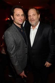 Matthew Rhys and Harvey Weinstein