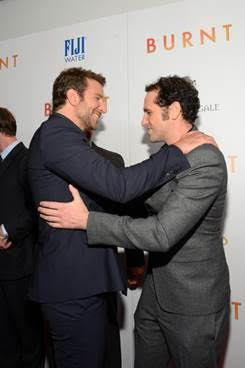 Bradley Cooper and Matthew Rhys