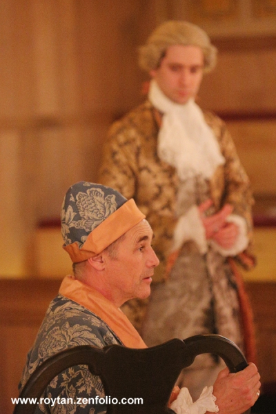 Photo Flash: First Look at Mark Rylance and More in FARINELLI AND THE KING