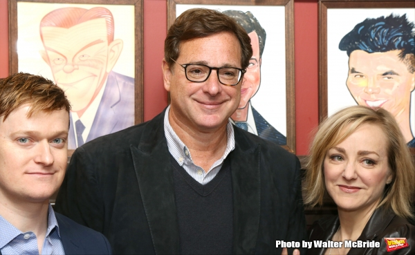 Steven Boyer, Bob Saget and Geneva Carr