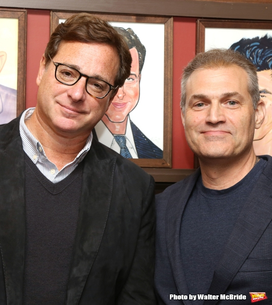 Bob Saget and Marc Kudisch