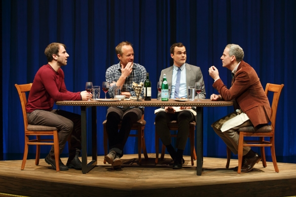 Alex Hurt, JOhn Benjamin Hickey, Stephen Plunkett and Patrick Breen