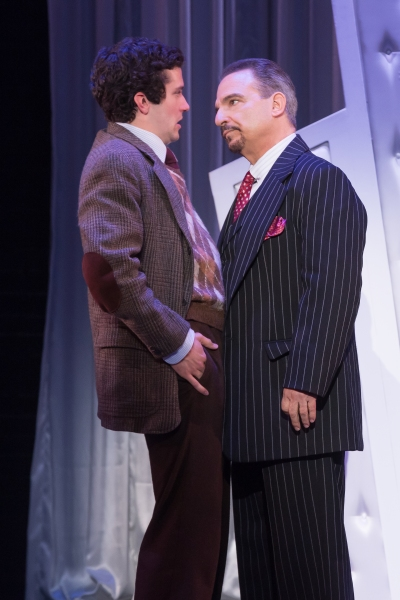 Michael Williams (David Shayne)  and Michael Corvino (Nick Valenti)