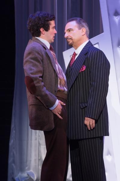 Michael Williams (David Shayne)  and Michael Corvino (Nick Valenti)