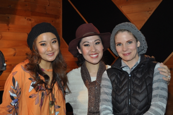 Ashley Park, Ruthie Ann Miles and Kelli O'Hara