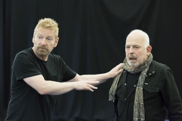 Photo Flash: First Look at Judi Dench, Kenneth Branagh, Zoe Wanamaker and More in Rehearsals for THE WINTER'S TALE and HARLEQUINADE/ALL ON HER OWN