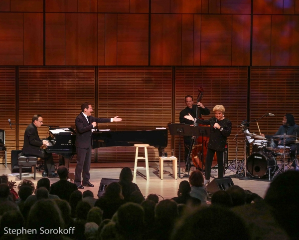 Tedd Firth, Michael Feinstein, Sean Smith, Marilyn Maye, Mark McLean Photo