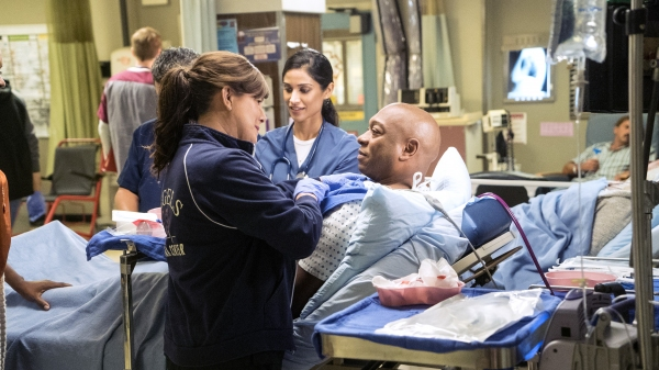 Photo Flash: Sneak Peek - THE LION KING's Alton Fitzgerald White and More to Appear on CBS's CODE BLACK