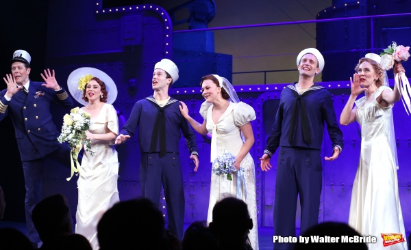 Photo Coverage: Anchors Aweigh! DAMES at SEA Cast Takes Opening Night Bows!