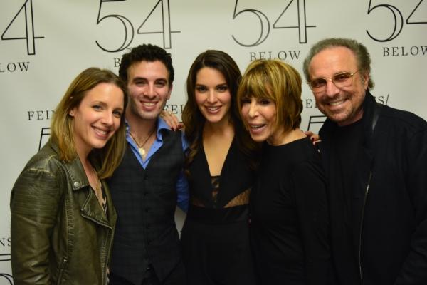 Jessie Mueller, Jarrod Spector, Kelli Barret, Cynthia Weil and Barry Mann  Photo