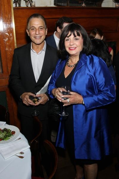 Tony Danza and Charlotte St. Martin