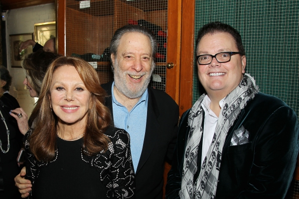 Marlo Thomas, Julian Schlossberg and David Saint