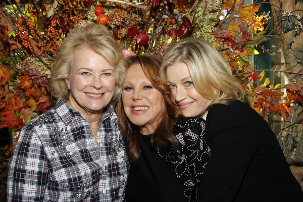 Candice Bergen, Marlo Thomas and Diane Sawyer