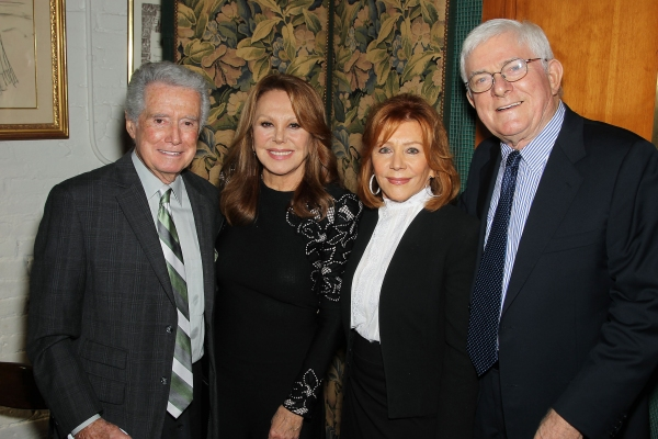 Regis Philbin, Marlo Thomas, Joy Philbin and Phil Donahue