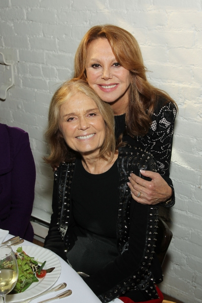 Marlo Thomas and Gloria Steinem