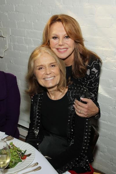 Marlo Thomas and Gloria Steinem