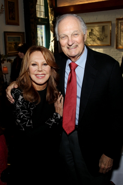 Marlo Thomas and Alan Alda