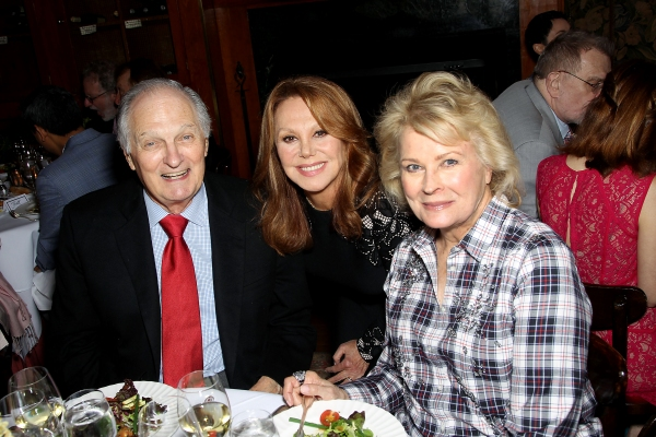 Alan Alda, Marlo Thomas and Candice Bergen