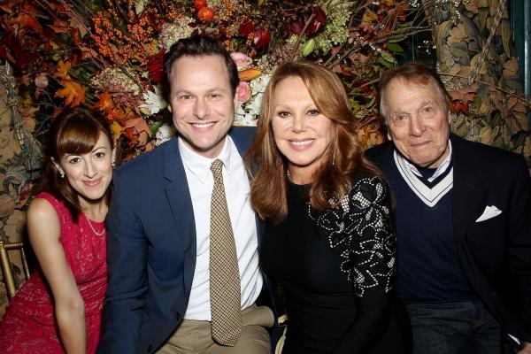 Kate Wetherhead, George Merrick, Marlo Thomas and Greg Mullavey