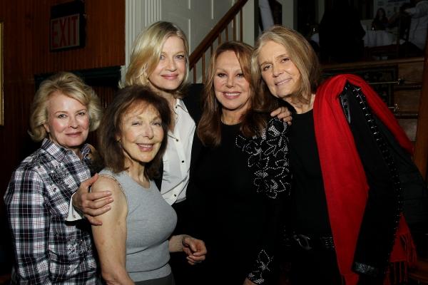 Candice Bergen, Elaine May, Diane Sawyer, Marlo Thomas and Gloria Steinem