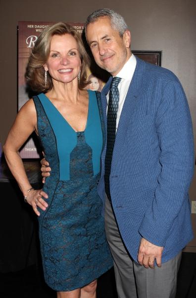 Audrey Heffernan Meyer and Danny Meyer