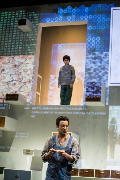 Photo Flash: First Look at Steppenwolf for Young Adults' Production of George Orwell's 1984