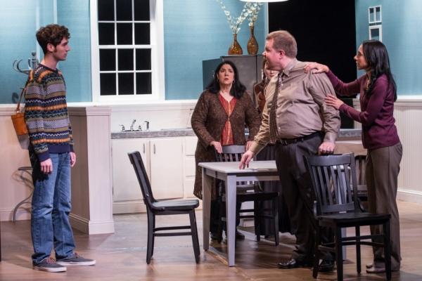 Jason (Vinny Peitz), Nat (Dana Galagan), Izzy (Elena Martinez), Howie (Jed Slaughter), Becca (Alissa Cattabriga)