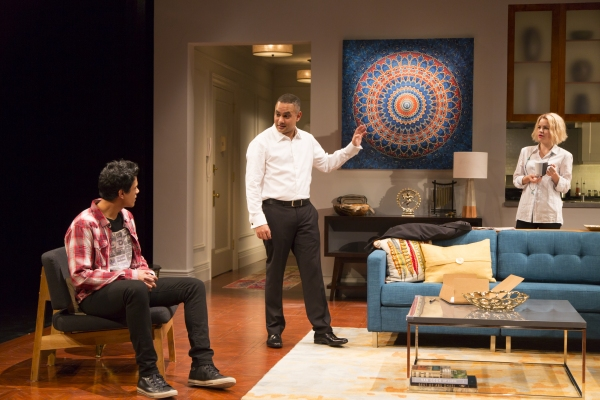 Photo Flash: First Look at Rajesh Bose, Nicole Lowrance, Shirine Babb and Benim Foster in Long Wharf Theatre's DISGRACED