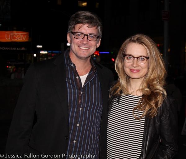 Chris Henry Coffey and Jennifer Mudge Photo