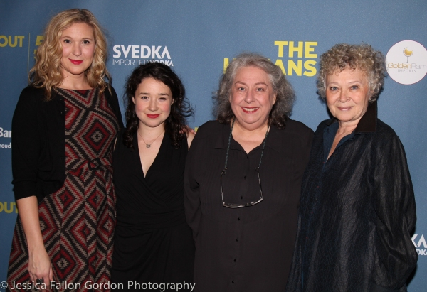 Cassie Beck, Sarah Steele, Jayne Houdyshell and Lauren Klein