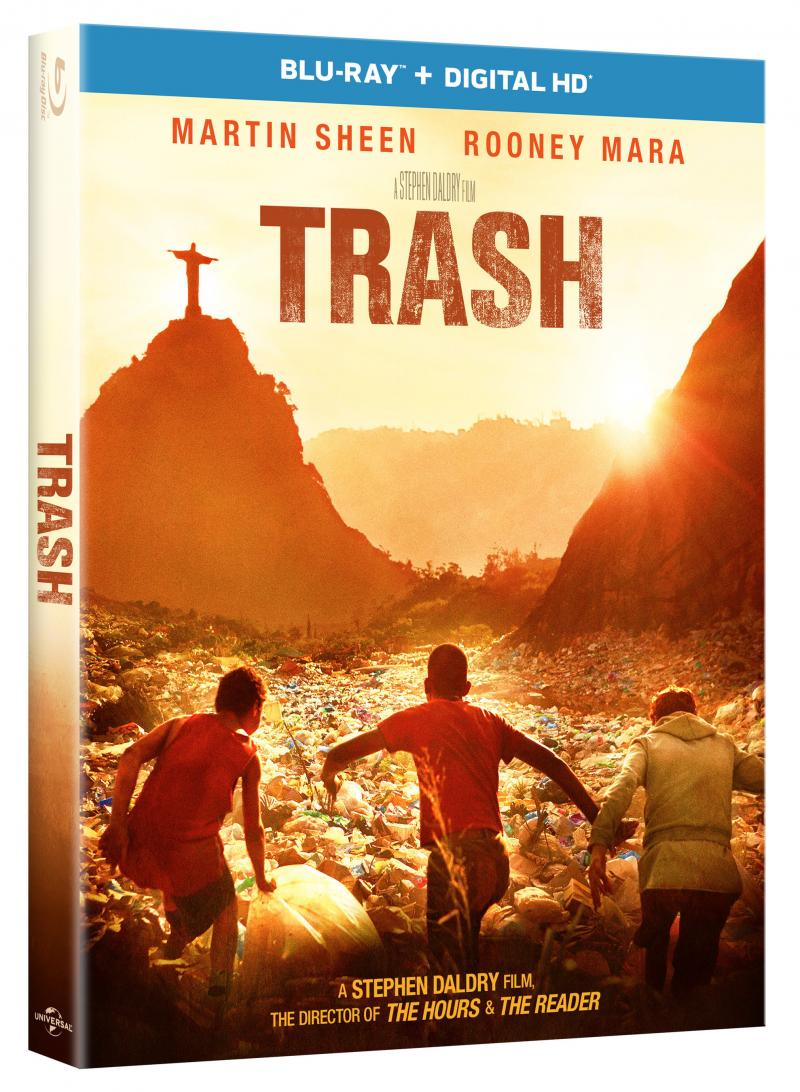 Gripping Adventure Film TRASH Comes to Digital HD, Blu-ray & DVD Today