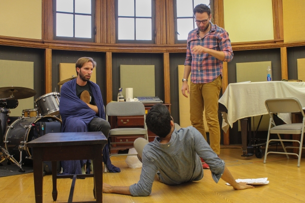 Photo Flash: In Rehearsal with Lesser America's THE BACHELORS at Rattlestick Theater