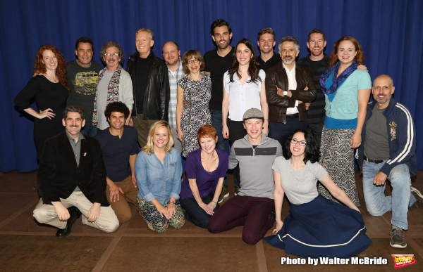 Photo Coverage: Go Inside the First Day Rehearsals for the Jackie Hoffman-Led ONCE UPON A MATTRESS