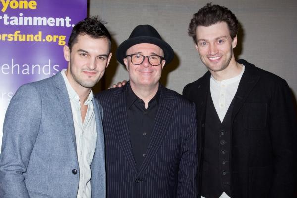 Wesley Taylor, Nathan Lane, Bryce Pinkham